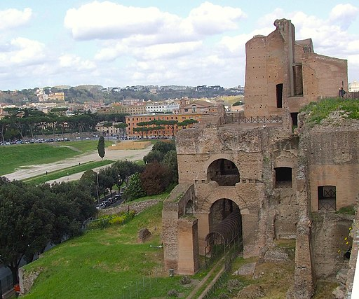 Imperial Palace on the Palatine overlooking the Circus Maximus2