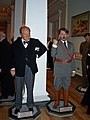 InSapphoWeTrust - Winston Churchill and Adolf Hitler at Madame Tussauds London (8481391096).jpg