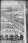 in vogelvlucht naar gravure w.harrit, the kings garden and palace het loo - apeldoorn - 20023271 - rce