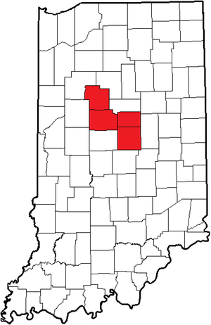 Hoosier Heartland Conference - Image: Indiana (HHC2)
