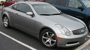2003-2005 Infiniti G35C photographed in USA. C...