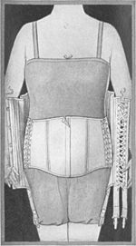 Inner Belt in Front-Laced Corset