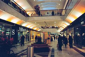 Brent Cross Shopping Centre - Inside shopping centre