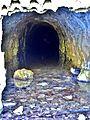 Intérieur de l'ancienne galerie de drainage du Rognon.jpg