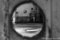 Interno di un capannone visto da un buco - stabilimento ex ceramiche Vaccari.jpg