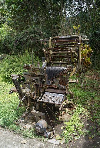 Intertype Corporation - Intertype Machine
