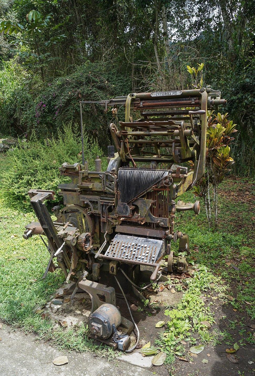 Intertype Machine