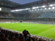 Iran and Nigeria match at the FIFA World Cup 2014-06-12 - Copa 2014 - FIFA World Cup 2014 - Curitiba (14439945285).jpg