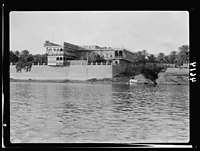 Iraq. (Mesopotamia). Baghdad. River scenes on the Tigris. King Ali's residence on the Tigris LOC matpc.16025.jpg
