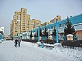 Irkutsk. February 2013. Barguzin, regional court, bus stop Volga, Diagnostic Center. - panoramio (3).jpg