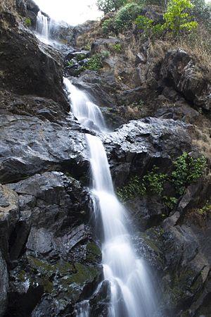 Irupu Falls - Irupu Falls before monsoon