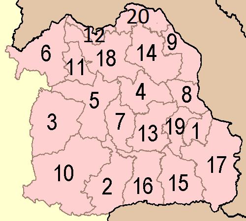Isan provinces