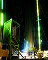 Isle of Wight Festival 2008 reverse bungee at night.jpg