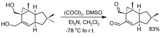 Swern oxidation - Image: Isovelleral Preparation Via Swern Oxidation