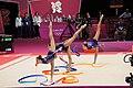 Israel Rhythmic gymnastics at the 2012 Summer Olympics (7915070772).jpg