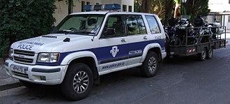 Cyprus Police - Image: Isuzu Trooper Cyprus Police