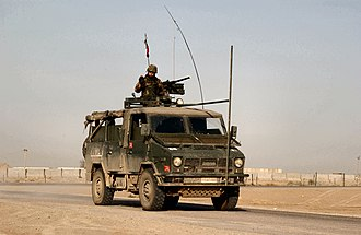 Armed Forces of Malta - Image: Italian military Iveco 40.10WM