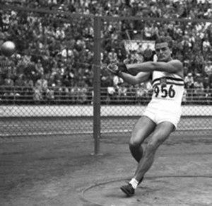 József Csermák - Csermák at the 1952 Olympics
