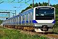 JR East E531 series Tōhoku Main Line test run 20171005.jpg