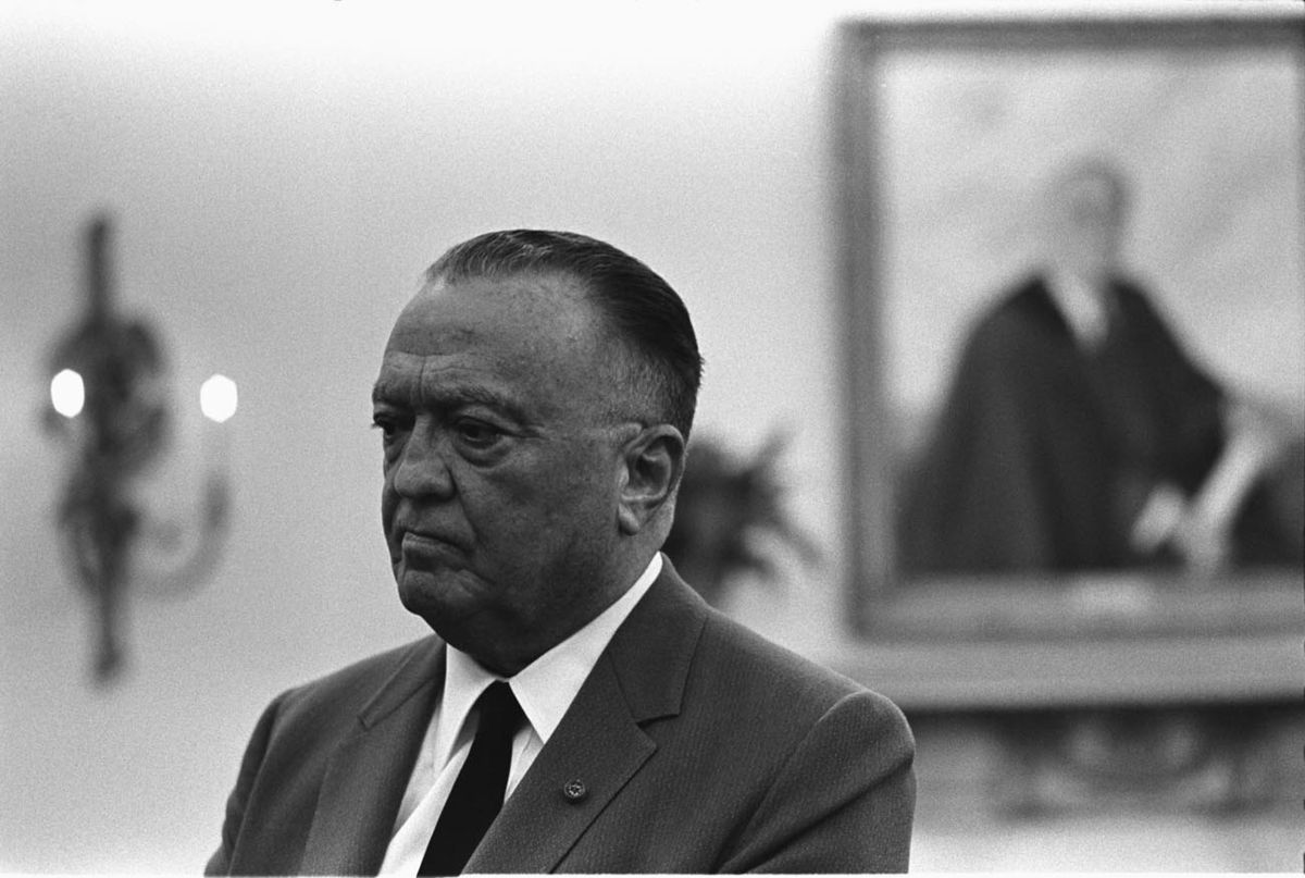 j edgar hoover Brief biography of j edgar hoover - a visionary american patriot.