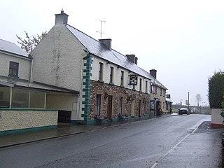 Tydavnet Town in Ulster, Ireland