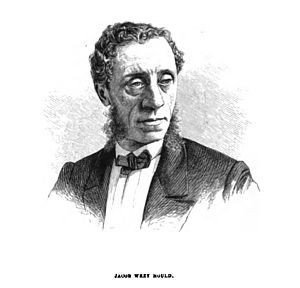 Jacob Wrey Mould - Engraving of Jacob Wrey Mould from A Description of the New York Central Park (1869) by Clarence Cook (Digitized by Google Books)