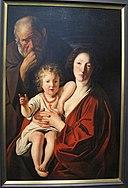 Jacob jordaens, sacra famiglia, 1620 ca..JPG