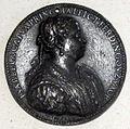 Jacopo da trezzo (da), medaglia di isabella capua, meglie di ferrante gonzaga, post 1550.JPG