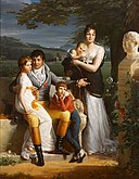 Jacques-Luc Barbier-Walbonne - Portrait of Antoine-Georges-François de Chabaud-Latour and His Family - 2003.105 - Rhode Island School of Design Museum.jpg