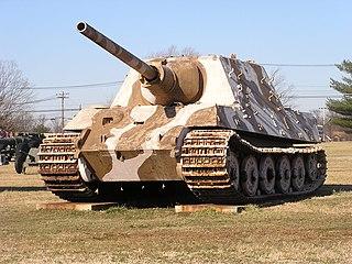 <i>Jagdtiger</i> Type of Heavy tank destroyer