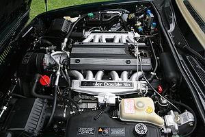 Jaguar V12 engine - Daimler Double Six 6.0 liter V12 engine (1994)