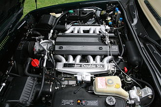 Jaguar V12 engine - Daimler Double Six 6.0 liter V12 engine (1994)
