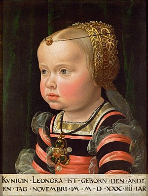 Archduchess Eleanor of Austria - Eleanor as a child