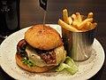 Jalapeño and bacon hamburger at O'Learys.jpg