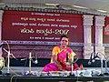 Jaltarang music concert by Vidushi Shashikala Dani at Hampi Utsav.jpg