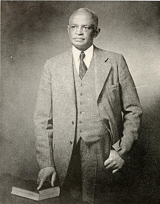 North Carolina Central University - James E. Shepard, c. 1947, founder of the National Religious Training School and Chautauqua for the Colored Race