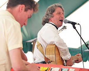James Gordon (Canadian musician) - James Gordon performing at the Hillside Festival, which he co-founded in 1984.