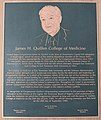 James H. Quillen Plaque.JPG