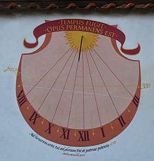 Jan Dismas Zelenka memorial - sundial LPB.jpg