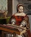 Jan van Hemessen - Young Woman Playing a Clavichord.jpg