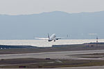 Japan Air Lines ,JL2505 ,Boeing 737-846 ,JA348J ,Departed to Sapporo ,Kansai Airport (16784394856).jpg