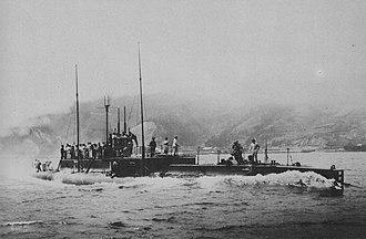 Kaichū type submarine - Ro-11 in 1919