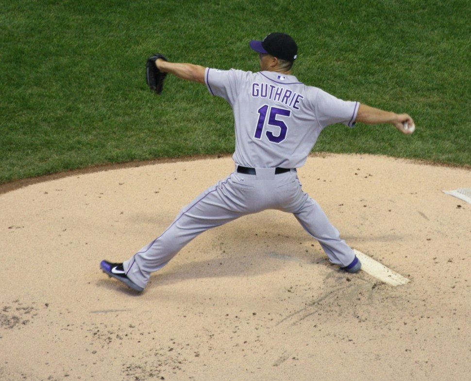 Jeremy Guthrie 15 Pitching