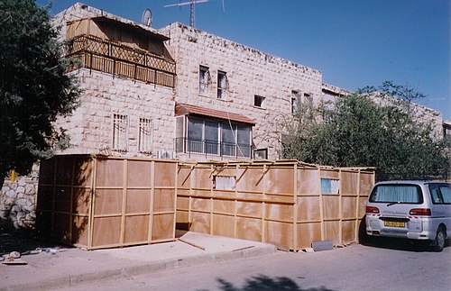 Some sukkot in Jerusalem Jerusalemsukkas.jpg