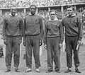 Jesse Owens, Ralph Metcalfe, Foy Draper, Frank Wykoff 1936.jpg