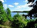 Jezioro Sępoleńskie w oddali zabudowania miasta - panoramio (3).jpg