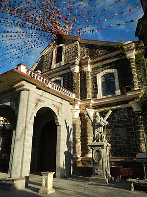 San Andres Apostol Church (Candaba) - Image: Jf Candaba Church 8224Pampangafvf 05