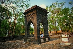 Jijamata Samadhi at Pachad, Raigadh, Maharashtra