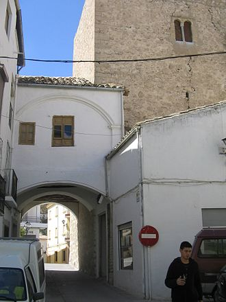 Jimena, Spain - Tower of the Arab wall that took the town.