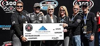 Jimmy John's - Image: Jimmy John's Owner Jimmy John Liautaud Presents $1 Million Check to Folds of Honor